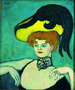 Pablo Picasso, L'Hétaire, 1901, Olio su tela, 65,3 x 54,5 cm, © Succesion Picasso by SIAE 2012