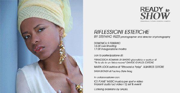 Ready to Show: Moda, fotografia, consigli di chirurgia estetica, musica, letteratura e specialità culinarie brasiliane e multietniche.http://www.sfilate.it/218781/ready-show-la-fiera-professionale-del-pret-porter