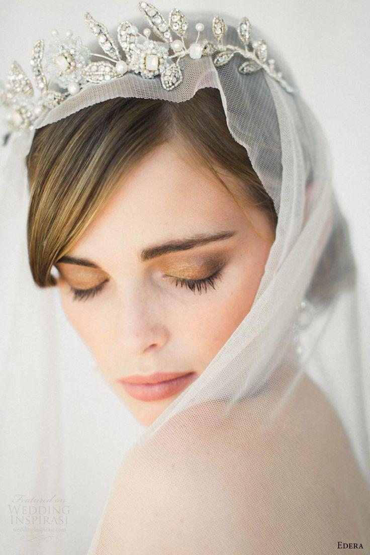 edera jewelry 2016 bridal accessories collection (aquarelle) tiara fv romantic