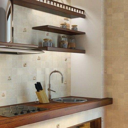 Плитка для кухни - Анастасия. 200х200 от 361,00 руб./м.кв. Golden Tile, Украина