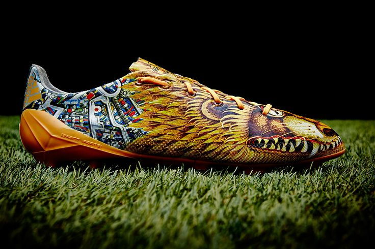 Yohji Yamamoto a long time designer and Adidas collaborated on one of soccer leading cleats, the F50. These cleats have a design that has never been seen before. Usually footwear is mass produced but these are restricted to only 2,000 pairs. - Trevor S.