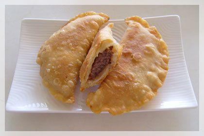 Beef Chebureki (Deep Fried Beef Dumplings)   Mydeliciousmeals.com