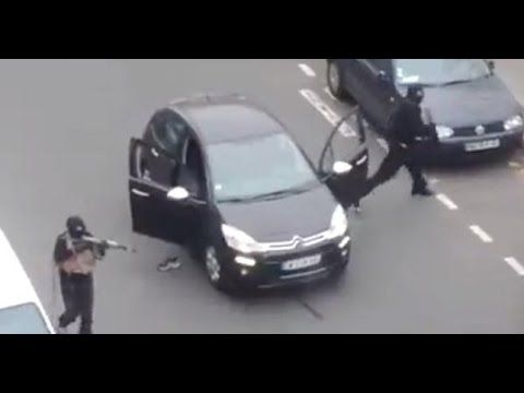 VIDEO: Ataque en Francia / Ataque a la revista francesa 'Charlie Hebdo'