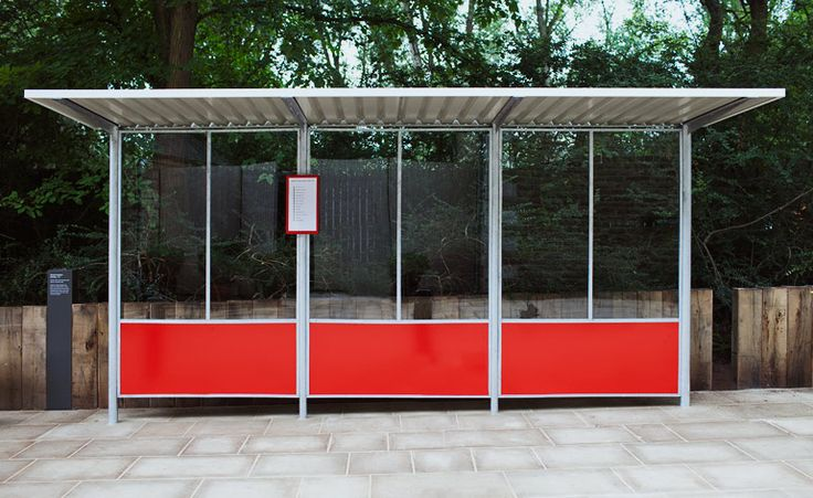 Following the success of the street lamps, Mellor designed a range of bus shelters (again for Abacus), which used tubular steel with steel panels and aluminium roofing. An estimated 140,000 have been installed nationally since they were first produced in 1959