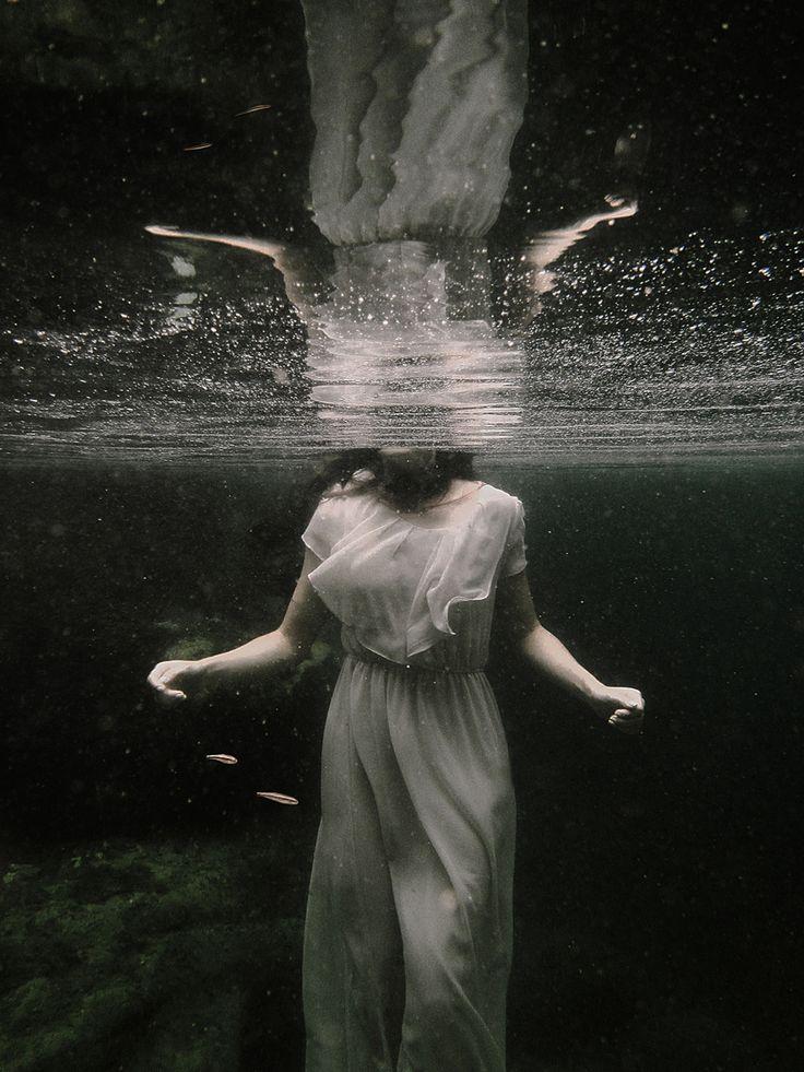 """Deep Shadows"" —  Photographer/Concept/Retoucher: Eva Carollo Model: Catherine Cabò"