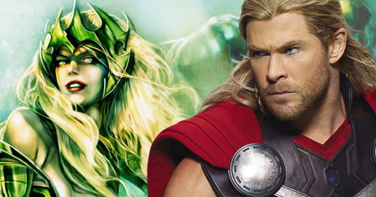 'Thor 3' to Include a Female Villain, Is It Amora the Enchantress? -- An unconfirmed report claims that Marvel is seeking a high-caliber actress to play a female villain in 'Thor: Ragnarok', which may be Amora. -- http://movieweb.com/thor-3-ragnarok-female-villain-amora-enchantress/
