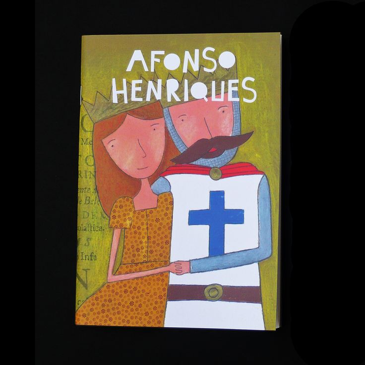 Cadernos A5 com folhas lisas de papel reciclado. Capa com ilustração de Afonso Henriques com D. Mafalda.