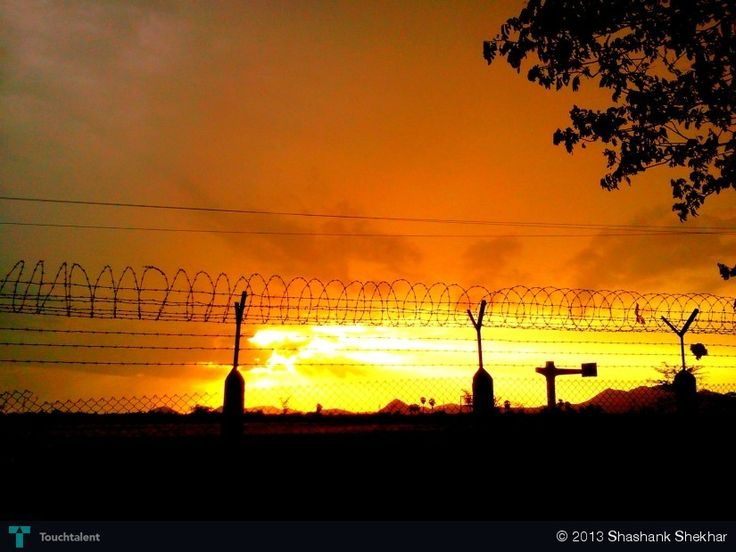 Gentle glow over the horizon. - Photography by Shashank Shekhar at touchtalent