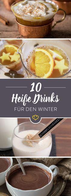 Lust auf ein heißes Getränk, um sich aufzuwärmen? Wir haben Foodblogger nach ihren besten Rezepten gefragt und sie für dich zusammengestellt.