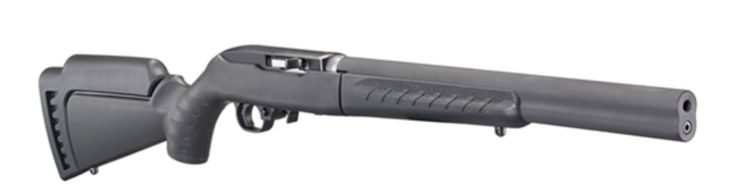 Ruger SR-22 TakeDown with Integral Silencer.