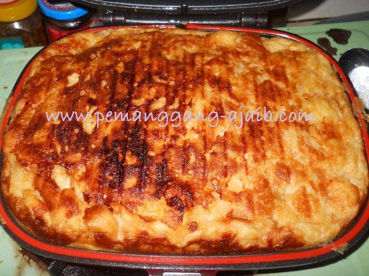 Resepi Puding Roti Mat Gebu