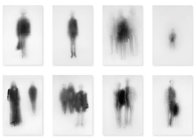 John Batho - Présents et Absents (série) - you could explore the idea of obfuscation