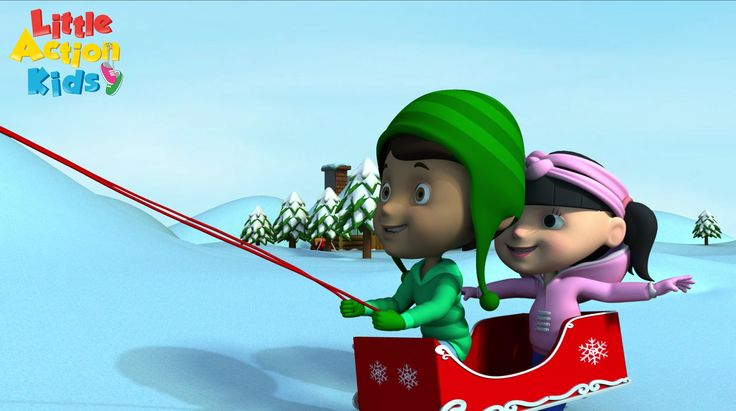 Jingle bells, jingle bells, jingle all the way. Join in with the Little Action Kids as they sing and dance along to this popular kids Christmas song. Get your bells ready to shake with this jingle bells song.
