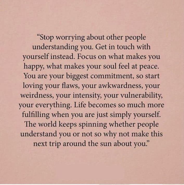 Stop Worrying About Other People Understanding You Empowerment