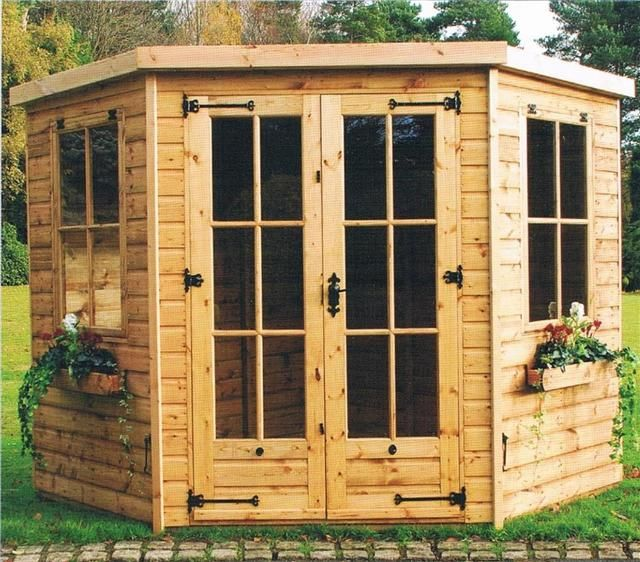 official website corner summerhouse page of purewell timber buildings sales and installation of quality garden sheds summerhouses sheds log stores and