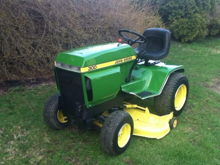My fully restored john Deere 300   Tractors   Pinterest