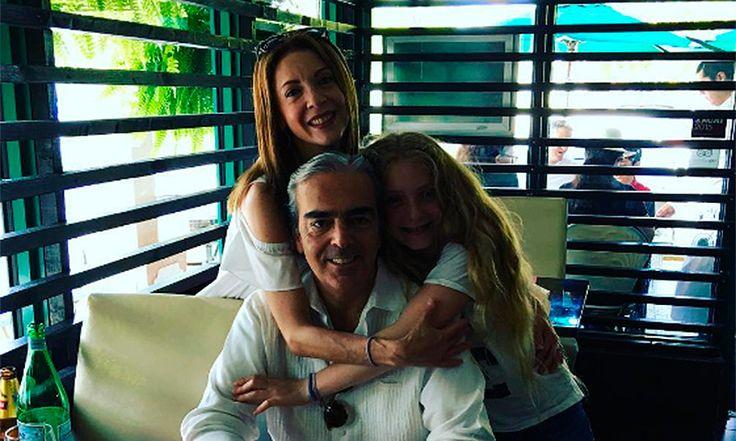 Como pocas veces, Edith González presume a su familia en redes sociales