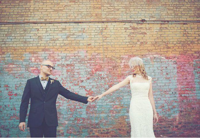 Brooklyn Wedding: Nicole + Alexander - featuring FORAGE haberdashery
