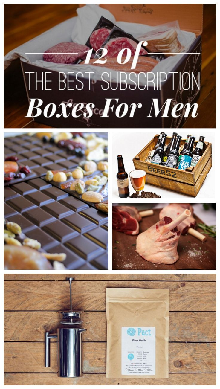 12 of the best UK subscription boxes for Men.