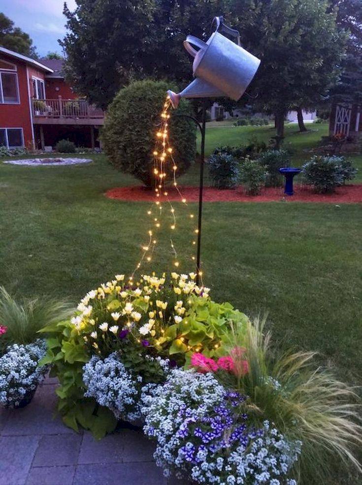 Backyards Garden Lighting Design Ideas