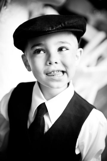 The ring bearer. http://linnealizphotography.com