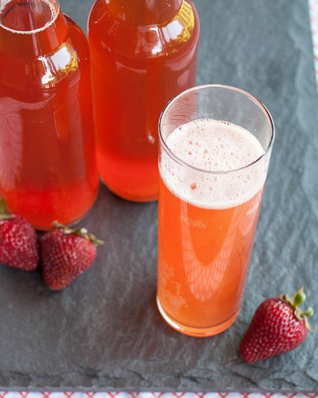 Emma E. Christensen: Summer Homebrew Recipe: Strawberry Kombucha (author of true brews) I followed her master brew recipe to start my first batch of Kombucha and haven't stopped brewing since. Great book!
