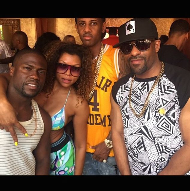 Taraji P. Henson was all the way turned up in Vegas, and partied it up with Fabolous, Kevin Hart, and more in a $261 Emilio Pucci Printed Bikini and $785 m