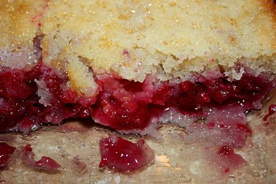 Super easy Raspberry Cobbler!