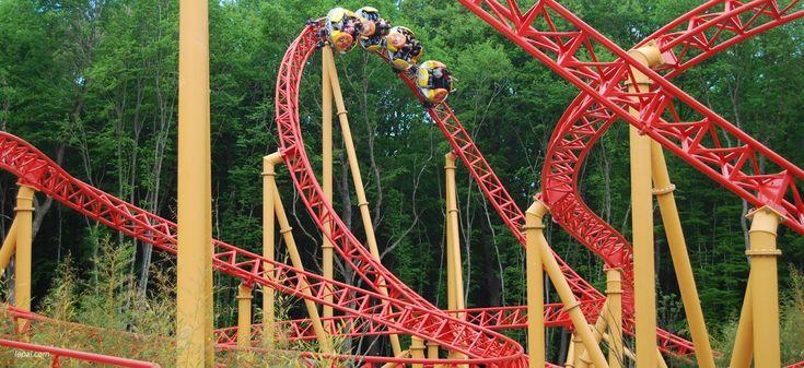 Le Twist - Parc d'attraction le PAL, Attraction Pour la famille