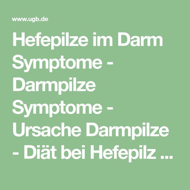 Hefepilze im Darm Symptome - Darmpilze Symptome - Ursache Darmpilze - Diät bei Hefepilz - Darmpilz - Candida albicans - Mykosen - Immunsystem - Ernährung - Pilzerkrankungen - Antibiotika - Antipilzdiät - Hefepilz Diät - Behandlung - Blähungen - UGB-Gesundheitsberatung