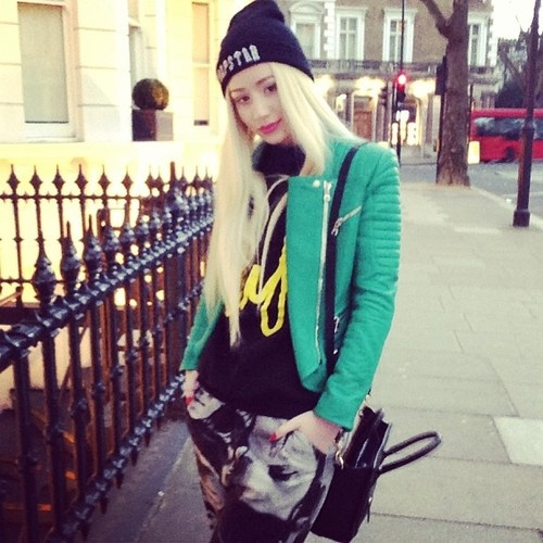 20323a9f2 Iggy Azalea X Trapstar London Beanie UK Clothing Dope Fashion Style Trend  Swag