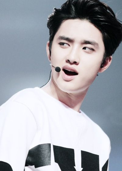 Because D.O's eyebrow game is always strong.