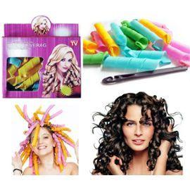 Lot 36 Bigoudis Magique Cheveux Boucle Magic Leverag 36 Pièces