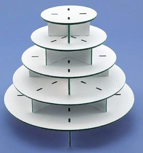 como hacer una base para cupcakes: Cupcake Tree, Cupcake Stands, Round Cupcakes, Cupcakes Display, Cupcakes Towers, Cupcakes Cakes, Cupcakes Rosa-Choqu, Cupcakes Stands, Cupcakes Trees