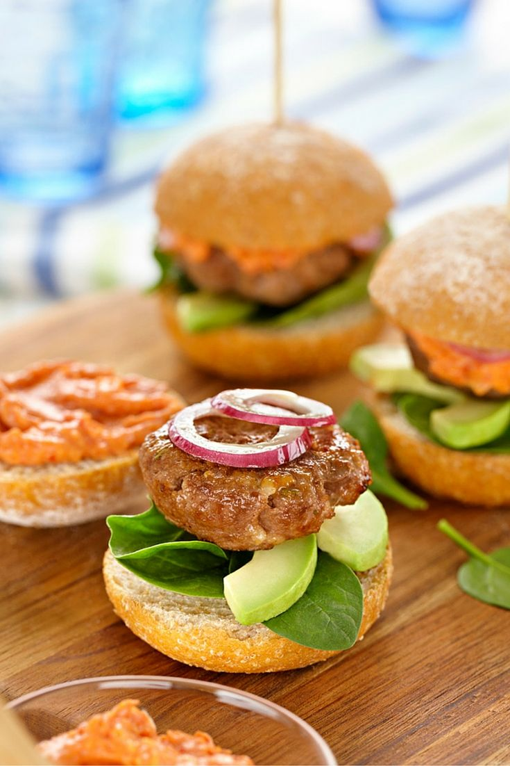 Beef Sliders With Tomato Mayo - the best, classic slider recipe