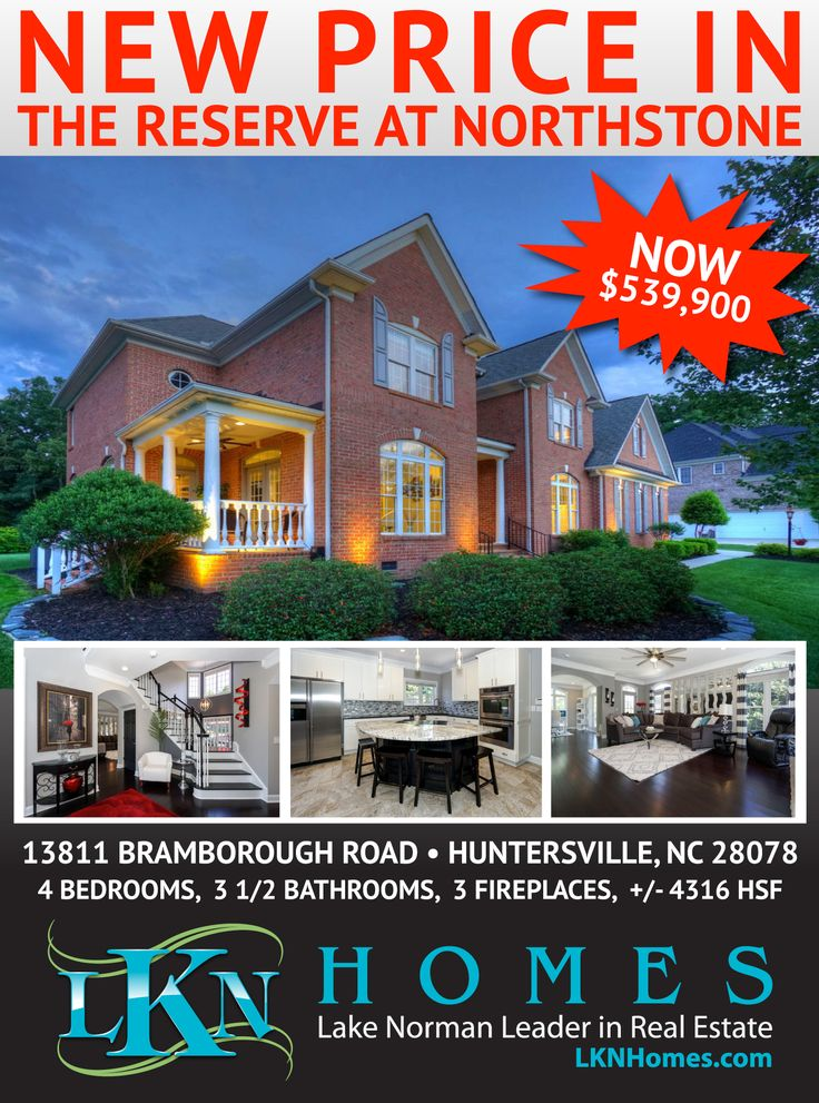 NEW PRICE ON BEAUTIFUL HOME OF DISTINCTION IN THE RESERVE AT NORTHSTONE!    4 Bedrooms, 3.5 Baths, 3 Fireplaces, 3 Car Garage, +/- 4,316 HSF - NEW PRICE: $539,900    Once in a lifetime, a home of such distinction becomes available. Entertain in true luxury and sophisticated beauty in the areas top rated Country Club. This fully remodeled, prestigious residence, is located in The Reserve at Northstone. The amazing amenities include: full brick exterior, 3 fireplaces, 3.5 car garage, gourmet…