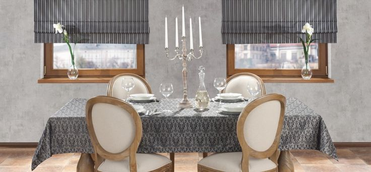 Interior, which is elegant thanks to fabrics from Victoria's Collection