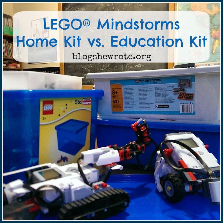 LEGO® Mindstorms Home Kit vs. Education Kit