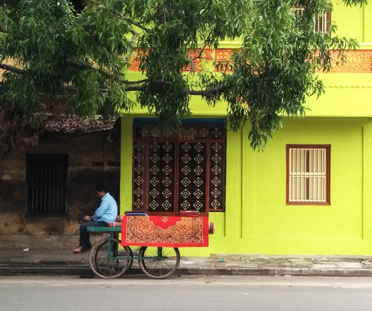 Walking the streets, Pondicherry, India
