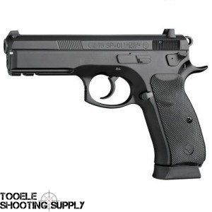 CZ 75 SP-01 Tactical 9mm with Decocker, Tritium Night Sights, Two 18-round Mags - $589