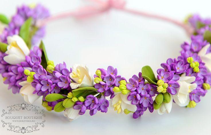 Floral crown, веночек на голову