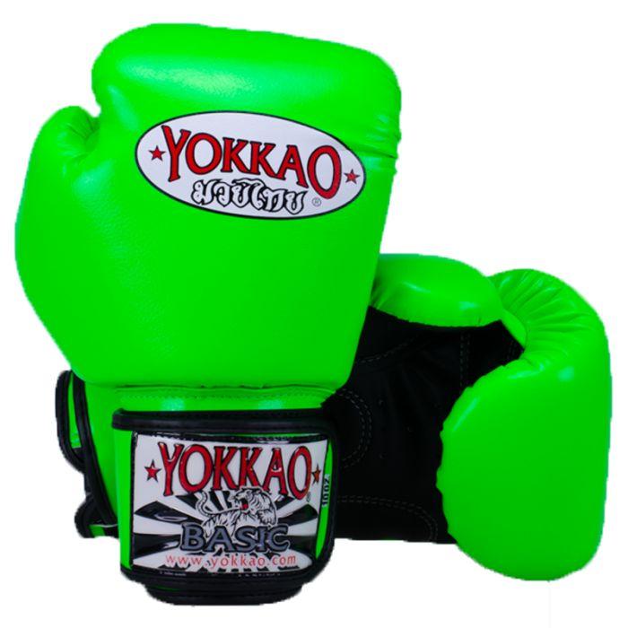 """<ul>  <li>guanti BASIC Yokkao Muay Thai Boxe</li>  <li>Di alta qualità in pelle sintetica</li>  <li>Completamente a mano in Thailandia</li>  <li>Davvero comodo utilizzo</li>  <li>Elevate prestazioni durante l'allenamento</li>  <li><span class=""""goog-text-highlight"""">foam anatomico per una migliore dispersione shock</span></li>  <li>Formato disponibile da 10 oz a 18 oz</li>  <li>Disponibile velcro solo</li>  <li>Su richiesta sono disponibili i formati più piccoli: i bambini-4 ..."""