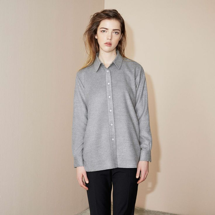 FWSS MAD WORLD SHIRT  STORM GRAY  http://fallwinterspringsummer.com/