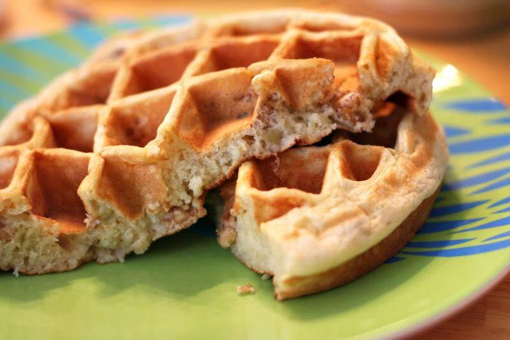 Banana Nut Waffles   Recipes   Pinterest