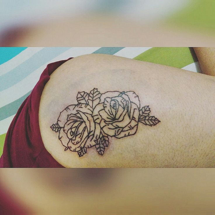Tattoo roses Ink art tattoo devol