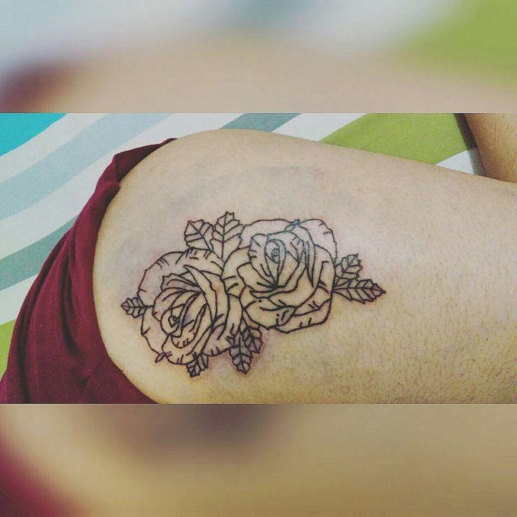 Tattoo roses Ink art tattoo devol