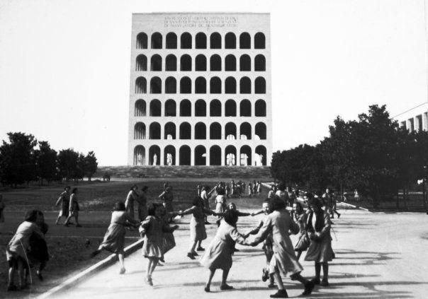 EUR, the Square Colosseum.