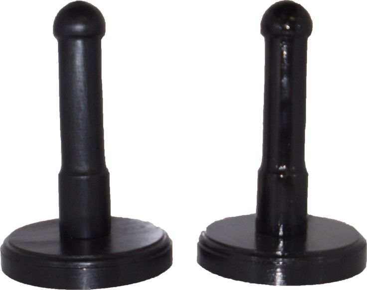 THIS IS THE WOODEN MALE CONDOM DEMONSTARTOR WITH BASE, BOTH IN BLACK MATT AND BLACK GLOSS. ALL MANUFACTURED BY QUANTUMED