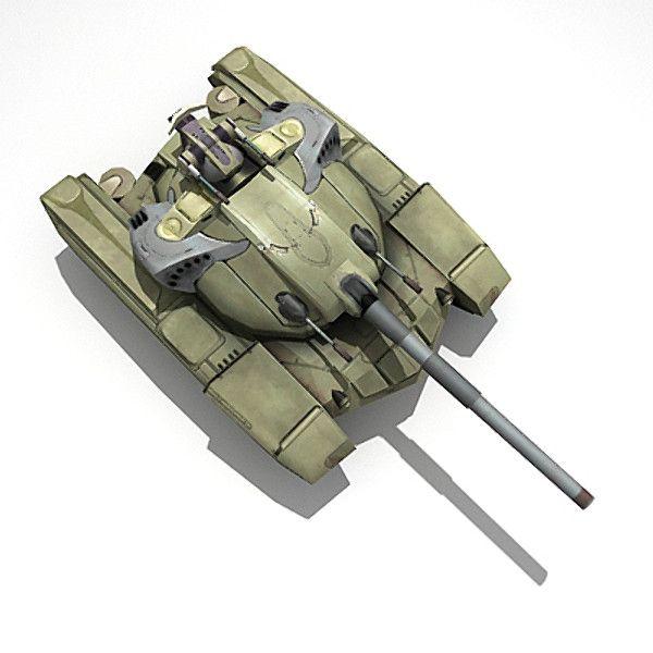 3d tank games model - TANK... by Eugeny Karpenko