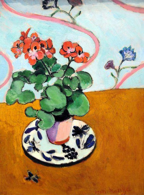 Henri Matisse - Geraniums